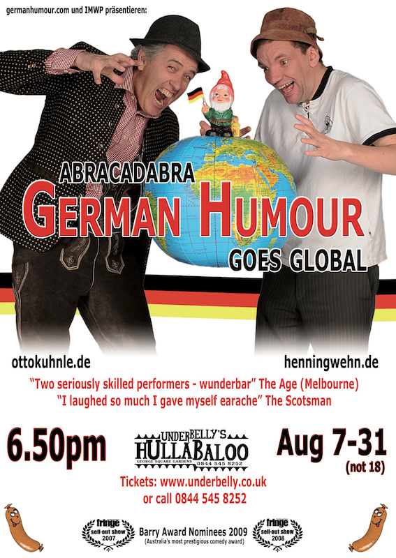 Abracadabra: German Humour Goes Global