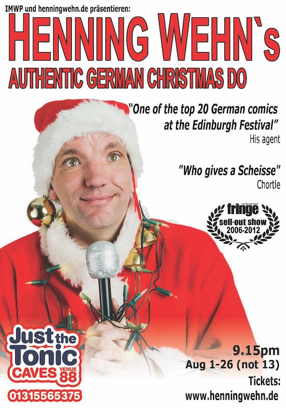 Henning Wehn's Authentic German Christmas Do